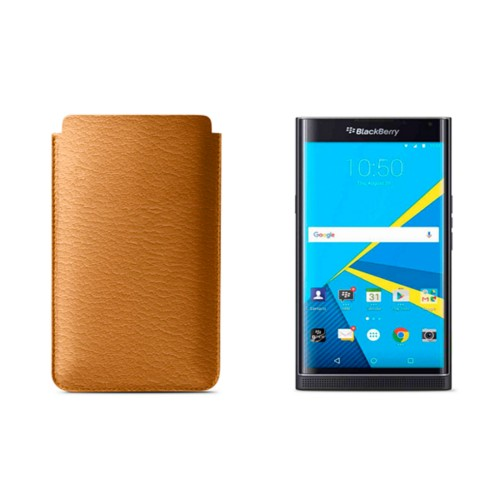 BlackBerry Priv Sleeve - Saffron - Goat Leather