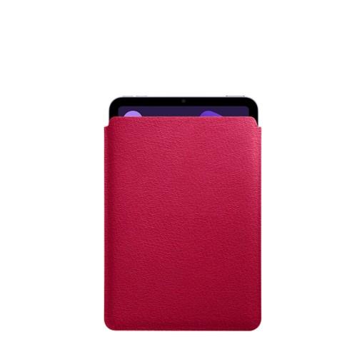Protective Case for iPad Mini 4 - Fuchsia  - Goat Leather
