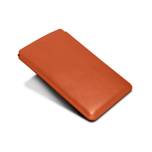 Protective Case for iPad Mini 4 - Orange - Goat Leather