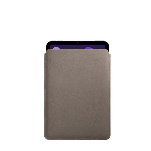 Protective Case for iPad Mini 4 - Light Taupe - Goat Leather