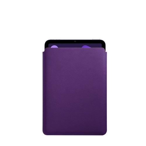 Protective Case for iPad Mini 4 - Purple - Goat Leather