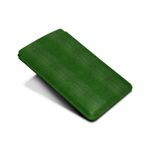 Protective Case for iPad Mini 4 - Light Green - Crocodile style calfskin