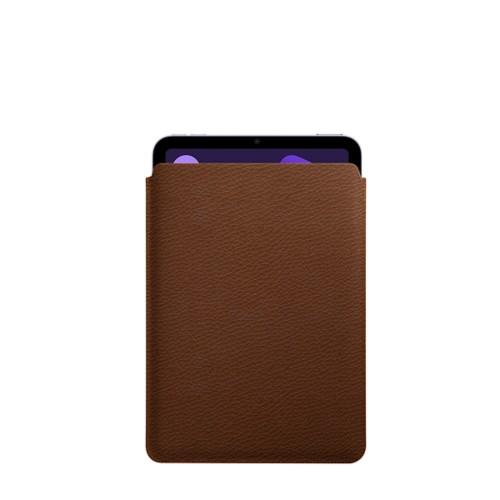 Protective Case for iPad Mini 4 - Tan - Granulated Leather