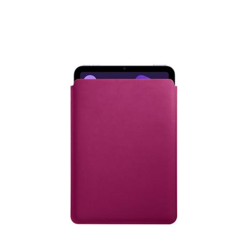 Protective Case for iPad Mini 4 - Fuchsia  - Smooth Leather