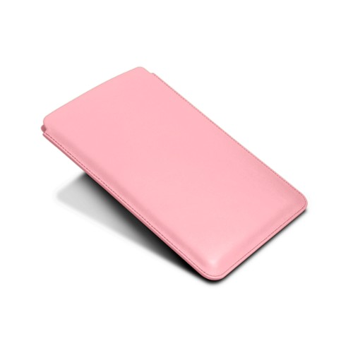Protective Case for iPad Mini 4 - Pink - Smooth Leather