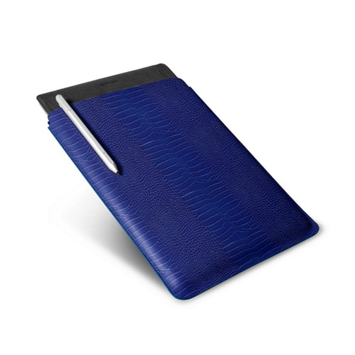 Microsoft Surface Pro 4 Case - Royal Blue - Crocodile style calfskin