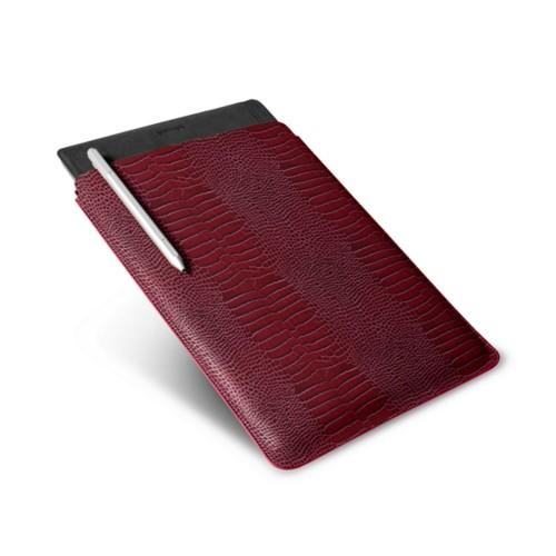 Microsoft Surface Pro 4 Case - Fuchsia  - Crocodile style calfskin