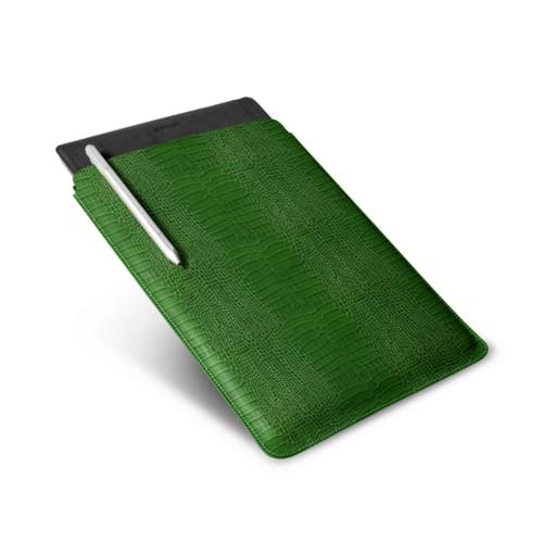 Microsoft Surface Pro 4 Case - Light Green - Crocodile style calfskin
