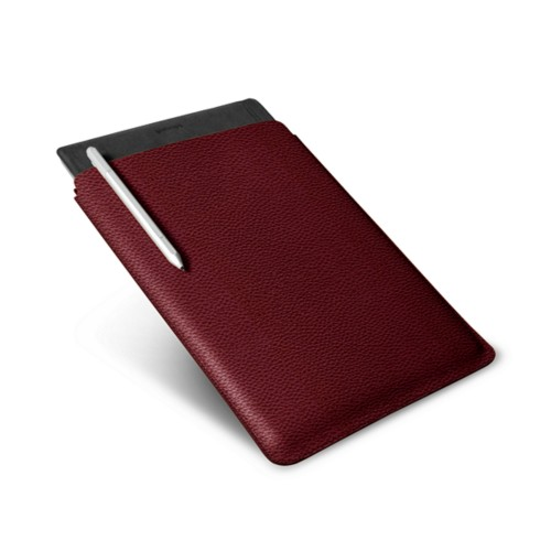 Microsoft Surface Pro 4 Case - Burgundy - Granulated Leather