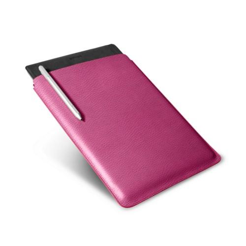 Microsoft Surface Pro 4 Case - Fuchsia  - Granulated Leather