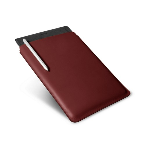 Microsoft Surface Pro 4 Case - Burgundy - Smooth Leather