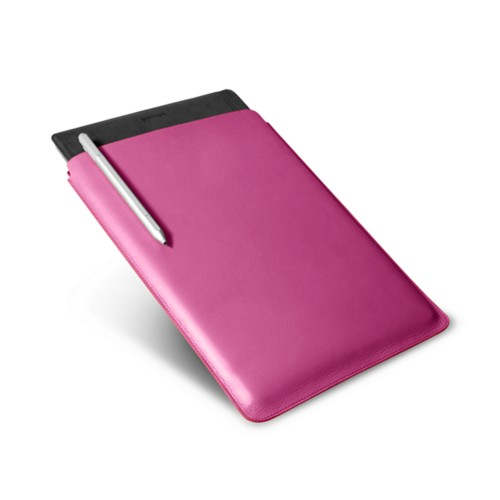 Microsoft Surface Pro 4 Case - Fuchsia  - Smooth Leather