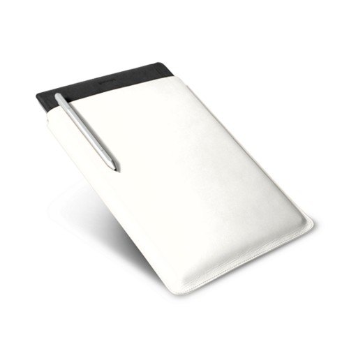 Microsoft Surface Pro 4 case - White - Smooth Leather