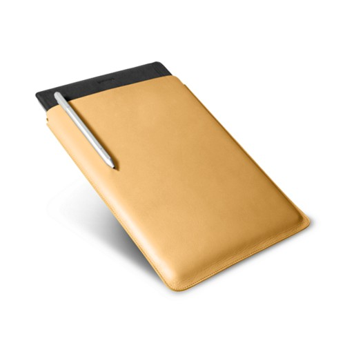 Microsoft Surface Pro 4 case - Mustard Yellow - Smooth Leather