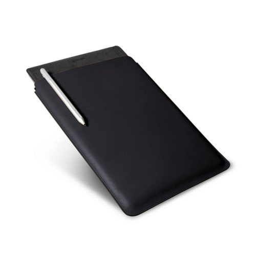 Microsoft Surface Pro 4 case - Black - Smooth Leather