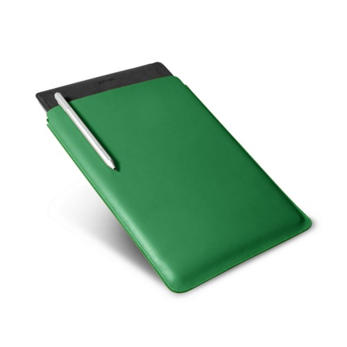 Microsoft Surface Pro 4 case - Light Green - Smooth Leather