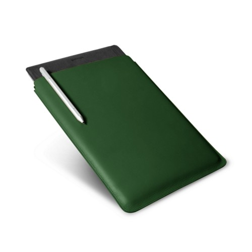 Microsoft Surface Pro 4 case - Dark Green - Smooth Leather