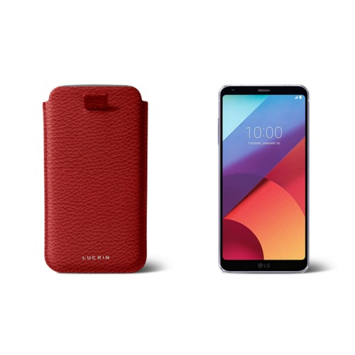 LG G6 case with pull-up strap