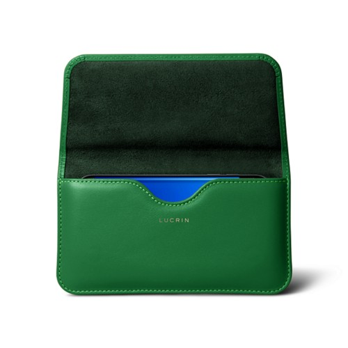 Belt Case for Samsung Galaxy S8 - Light Green - Smooth Leather