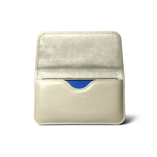 Belt case for Galaxy S7 - Off-White - Smooth Leather