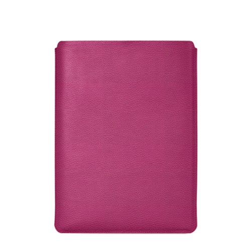 "Macbook Pro 15"" Touch Bar pouch - Fuchsia  - Granulated Leather"