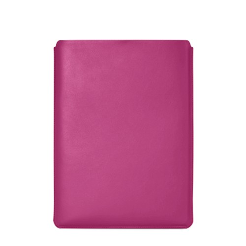 "Macbook Pro 15"" Touch Bar pouch - Fuchsia  - Smooth Leather"