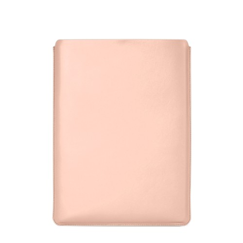 "Macbook Pro 15"" Touch Bar pouch - Nude - Smooth Leather"