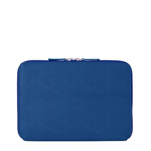 """Funda Con Cremallera Para iPad Pro 12.9"""" 2018 - Cielo Azul  - Piel Grano"""