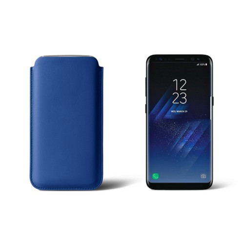 Classic Case for Samsung Galaxy S8 - Royal Blue - Smooth Leather