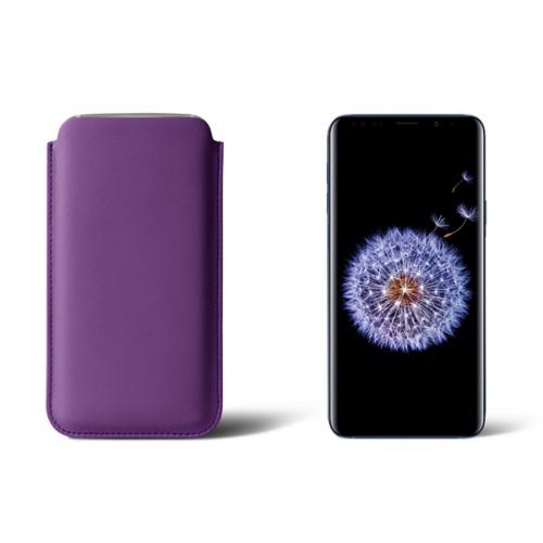 Sleeve voor Samsung Galaxy S9+ - Lavendel - Soepel Leer