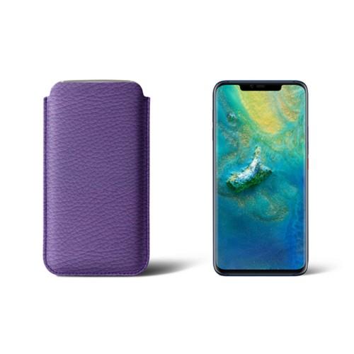 Hoesje voor de Huawei Mate20 Pro - Lavendel - Korrelig Leer