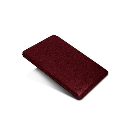 Hülle für iPad Pro 10.5-Zoll - Weinrot - Genarbtes Leder