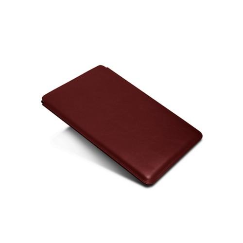Hülle für iPad Pro 10.5-Zoll - Weinrot - Glattleder