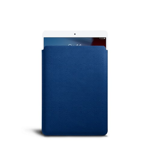Protective Sleeve for iPad Air - Royal Blue - Granulated Leather