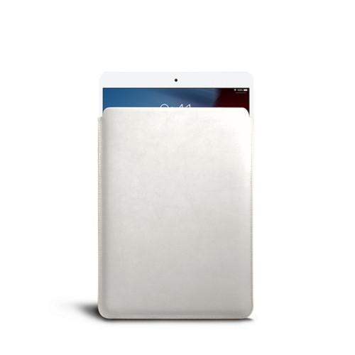 Housse pour iPad Air - Blanc - Cuir Lisse
