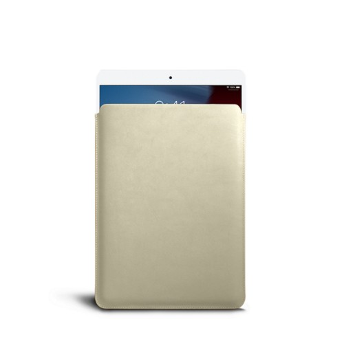 Protective Sleeve for iPad Air - Off-White - Smooth Leather