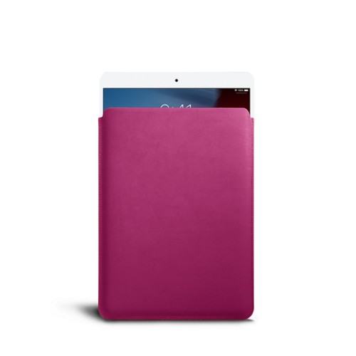 Protective Sleeve for iPad Air - Fuchsia  - Smooth Leather
