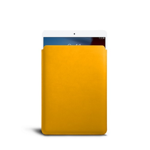 Protective Sleeve for iPad Air - Sun Yellow - Smooth Leather
