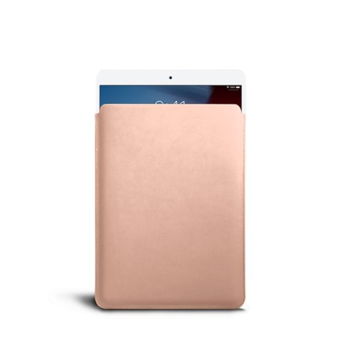 Protective Sleeve for iPad Air - Nude - Smooth Leather