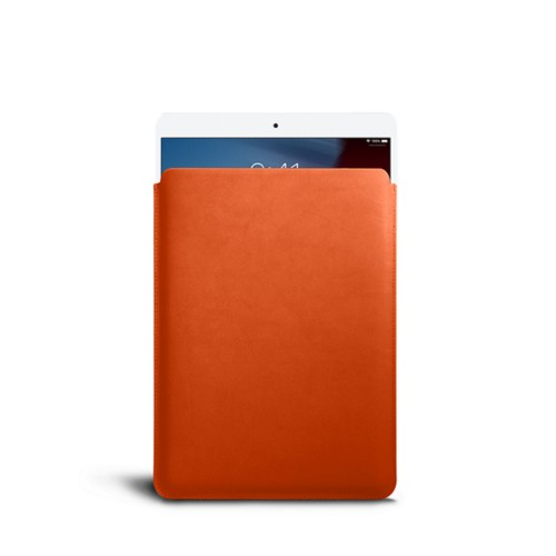 Protective Sleeve for iPad Air - Orange - Smooth Leather