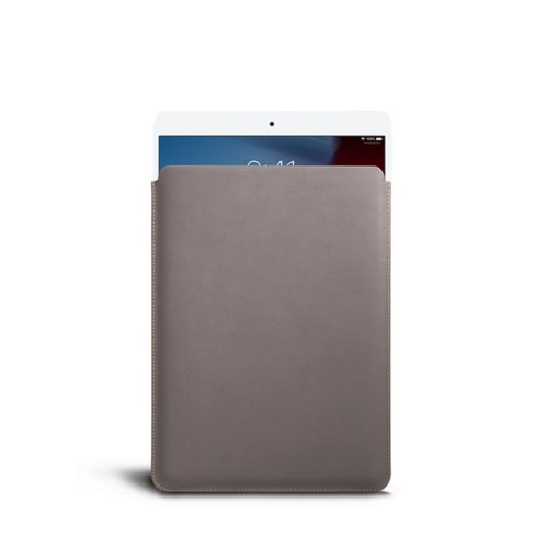 iPad Airプロテクティブスリーブ - Light Taupe - Smooth Leather