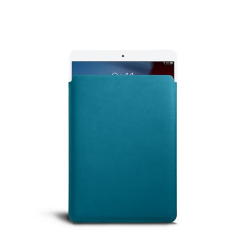 Protective Sleeve for iPad Air - Turquoise - Smooth Leather