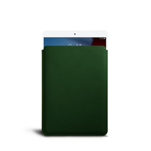 Protective Sleeve for iPad Air - Dark Green - Smooth Leather