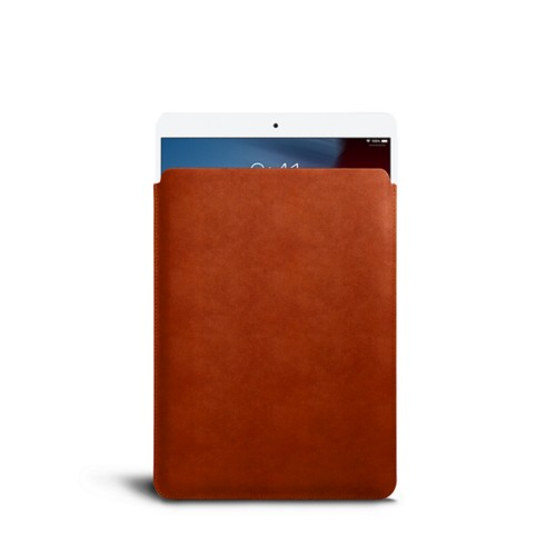 Protective Sleeve for iPad Air - Tan - Vegetable Tanned Leather