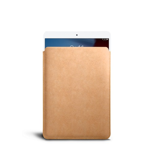 Protective Sleeve for iPad Air - Natural - Vegetable Tanned Leather