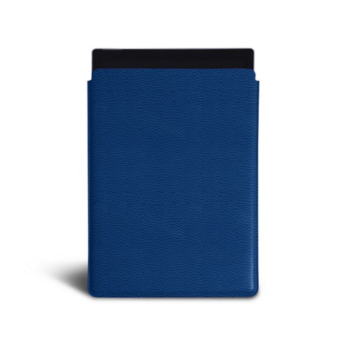 Microsoft Surface Pro (2017) sleeve - Royal Blue - Granulated Leather