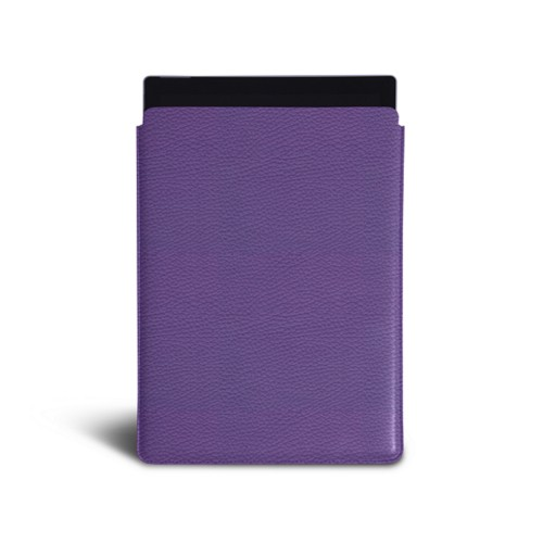 Microsoft Surface Pro 7 sleeve - Lavender - Granulated Leather