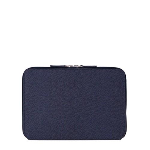Schutzhülle mit Reißverschluss für iPad Pro 10,5 Zoll - Königsblau  - Genarbtes Leder