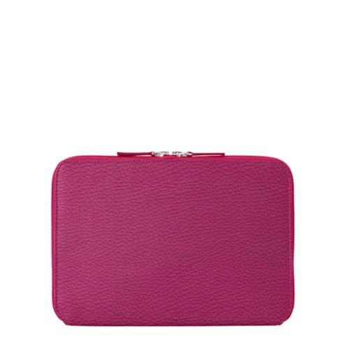 Reißverschlusshülle Für Das iPad Pro 11 Zoll - Fuchsia  - Genarbtes Leder