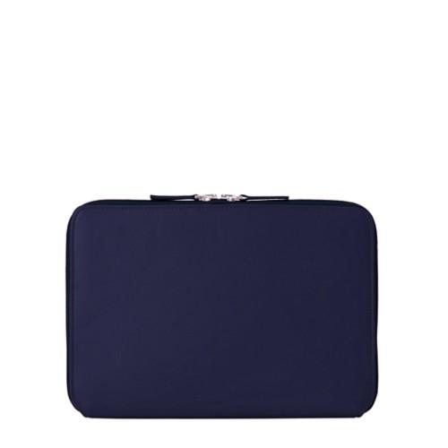 Reißverschlusshülle Für Das iPad Pro 11 Zoll - Marineblau  - Glattleder